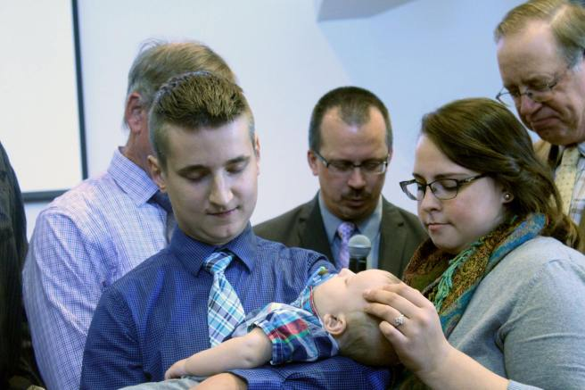 Open Letter - Late Husband baby dedication
