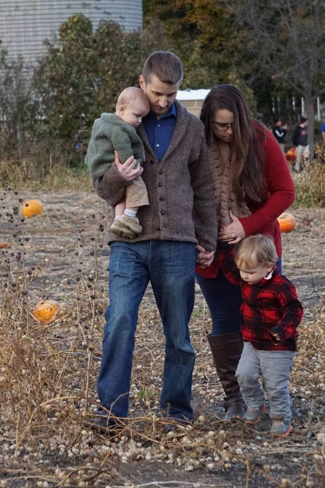 Open Letter to my Late Husband - pumpkin patch