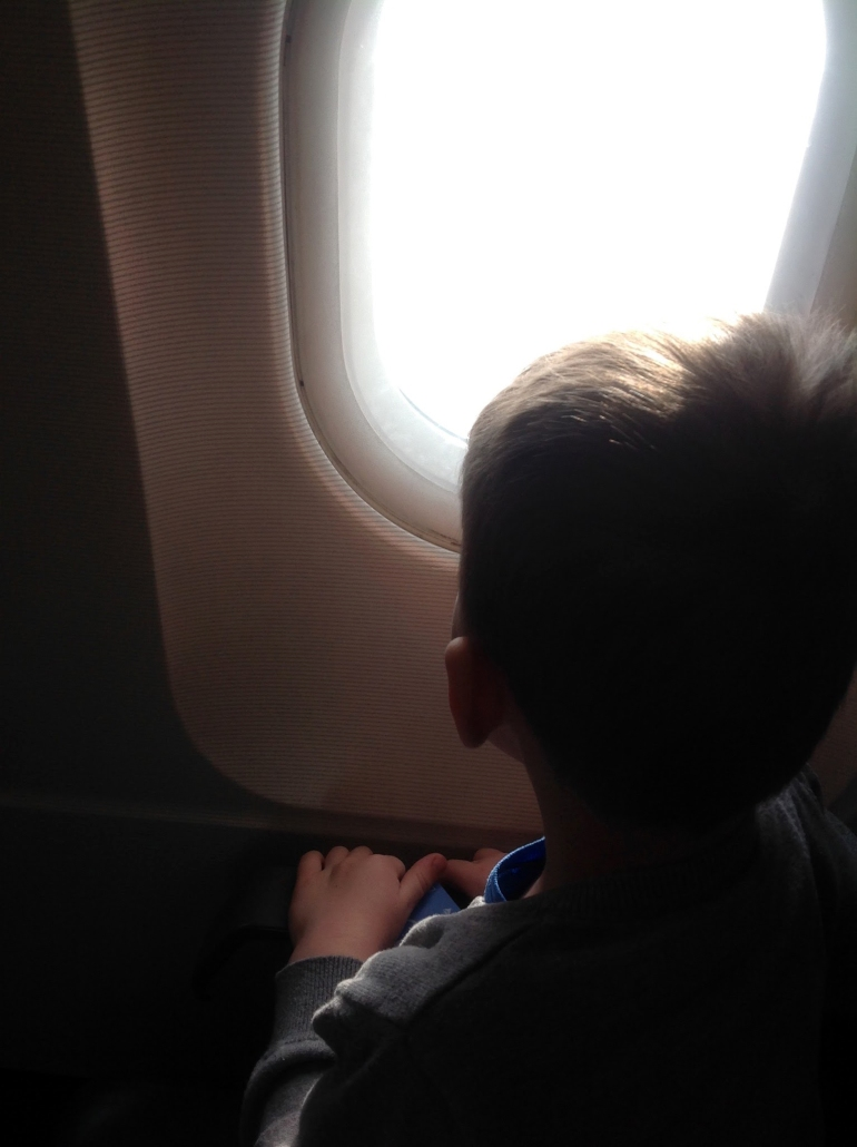 The Bright Spots: Looking out a window