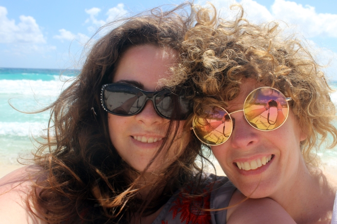 The Bright Spots: Selfie by the ocean